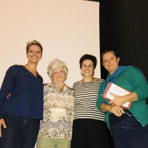 Alice Gregori, Agnès Szantos-Feder, Francesca Romana grasso, Marina Petruzio