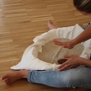 giocare con la sabbia per comprendere il piacere che ne deriva